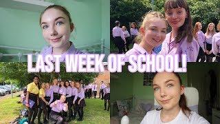 MY LAST WEEK OF GCSE EXAMS & SCHOOL (vlog)|Sophia
