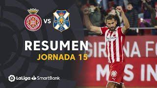 Resumen de Girona FC vs CD Tenerife (1-0)