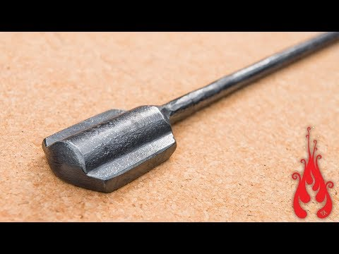 Blacksmithing - Forging a power hammer flatter