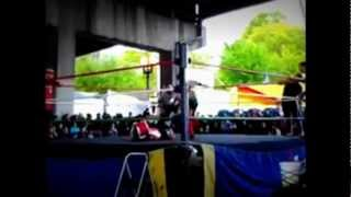 Aiwf/bcw/crown- Westside Connection/zack Winters Vs The Brownies/robby Lance (mv) 05/05/2012
