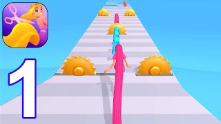 Hair Challenge - Gameplay Part 1 All Levels 1-9 Walkthrough (Android, iOS) screenshot 5
