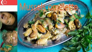 Crispy Mussels Omelette- How I End Up In Sweden