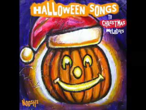 I Saw Three Ghosts, FUNNY Halloween Song by Nooshi