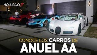 """Conoce los carros de Anuel + Lo que pasó antes de la entrevista de """"Los Dioses"""""""