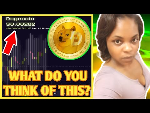 Dogecoins Cryptocurrency Investment Update| Dogecoin Cryptocurrency Gains Update| Dogecoin News
