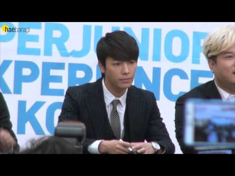 130911 Super Junior Experience Korea Fansign DONGHAE