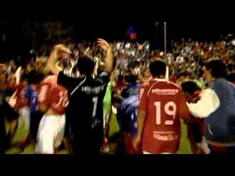 Entrega de la copa - COLONIA CAMPEÓN DEL INTERIOR SUB 18 - 2012