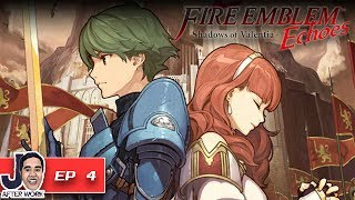 Fleecer's Forest Battle - Fire Emblem Echoes: Shadows of Valentia Walkthrough English - Part 4