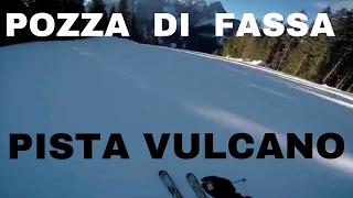 Pozza di Fassa, skiarea Buffaure: nuova pista nera Vulcano