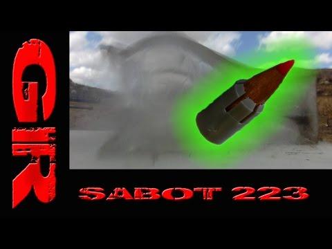 Shooting a .223 Through A Mosin Nagant Rifle