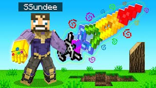 *OP* THANOS SWORD vs CREATIVE PLAYERS in Minecraft (Insane Craft)