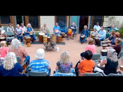 Community Drum Circle at Eldorado Park