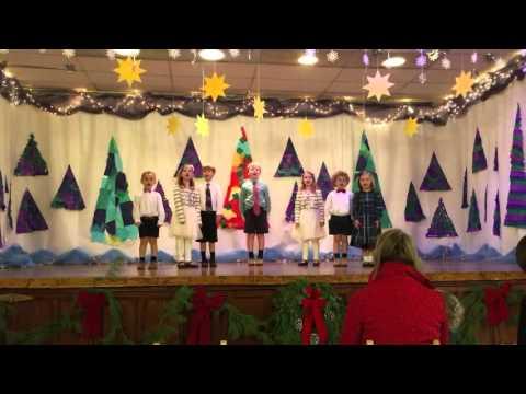 Christmas Program - Cedarcroft School - Home for the Holidays
