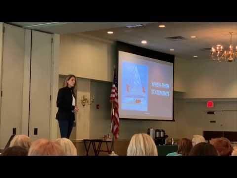 Motivational Speaker Janine Stange, Nursing Conference Keynote