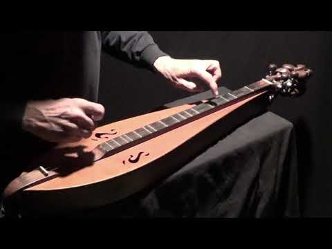 """""""CLIMBING UP THE GOLDEN STAIRS"""" on Dulcimer"""
