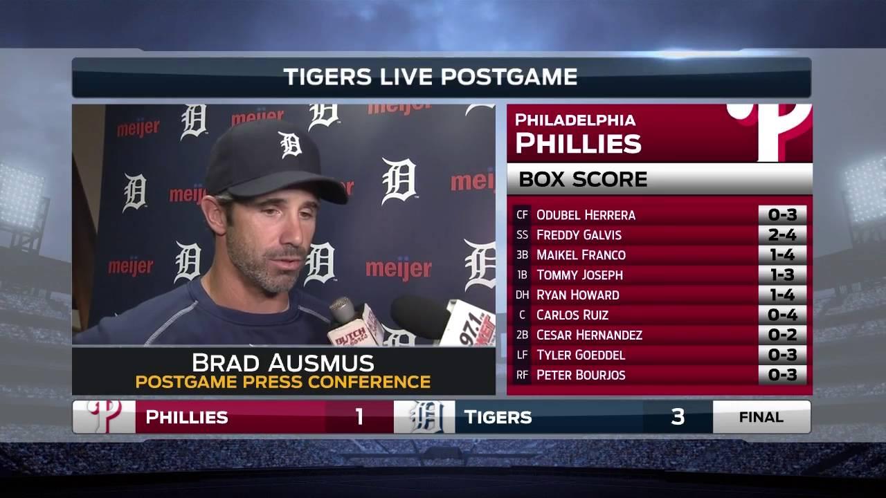 Brad Ausmus explains why Francisco Rodriguez is no longer Tigers closer