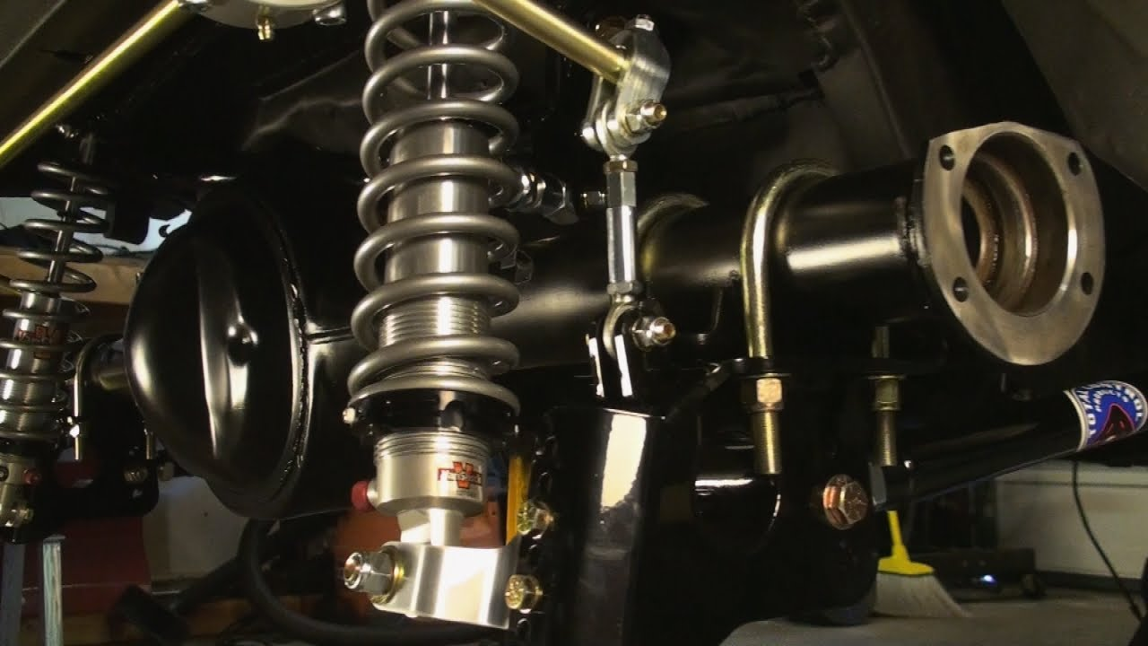 Coil Over Rear Suspension for Vintage Mustangs! Total Control Products 4 Bar System for the 71