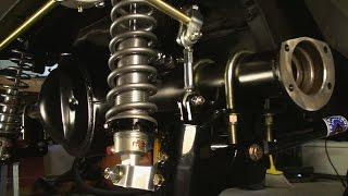 Coil Over Rear Suspension for Vintage Mustangs! Total Control Products 4 Bar System for the 71-73