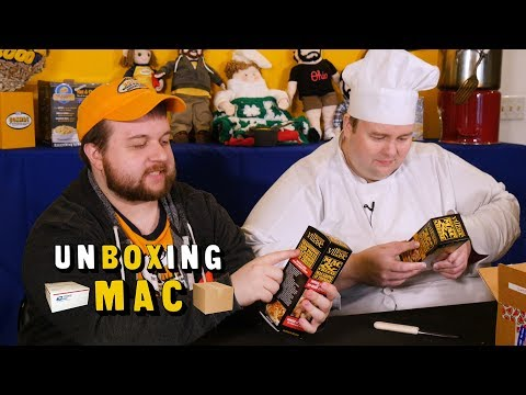 UnBoxing Mac 12: Macs with No Cheese and UK Gifts