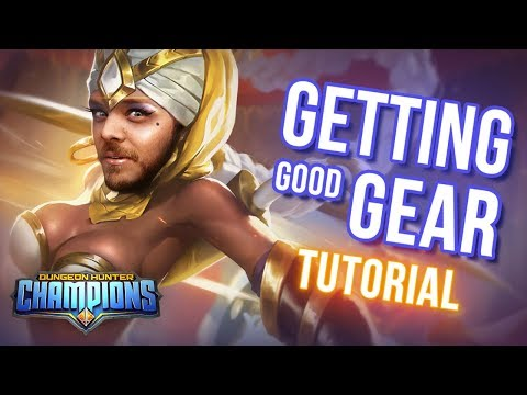 GETTING GOOD GEAR - Tips & Tricks (Dungeon Hunter Champions)