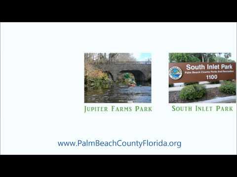 Palm Beach County Florida. Parks.
