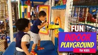Fun Indoor Playground for Kids at Trans Studio