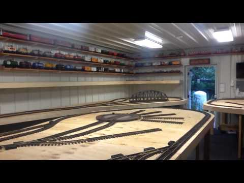 A 16 by 38 G scale layout