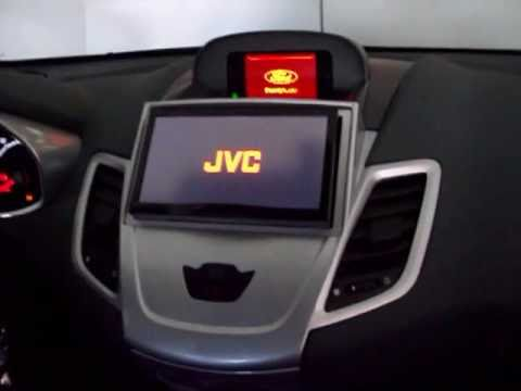 jvc avx 840 su ford fiesta mk7 youtube. Black Bedroom Furniture Sets. Home Design Ideas