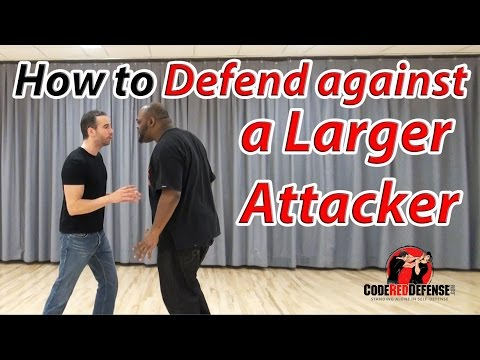 How to Defend against a Larger Attacker