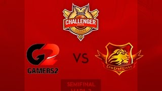 Gamers2 vs LowLandLions White - Mapa 2 - Semifinal - Challenger Series EU 2015 - Español