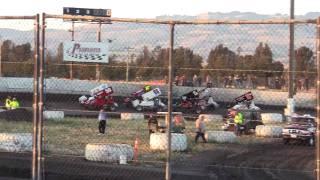 Petaluma Speedway Wheelstand Spinout August 6, 2010