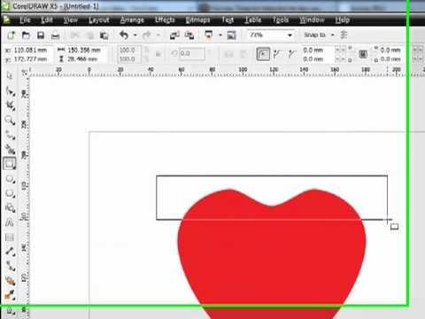 bài hướng dẫn vẽ Apple trong Corel
