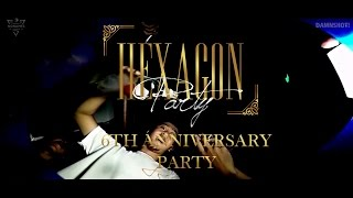 """HEXAGON PARTY"" 6th Nonames Birthday Bash"