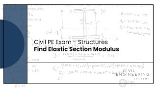 Structures-Find Elastic Section Modulus