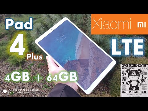 Xiaomi Mi Pad 4 Plus LTE 4GB+64GB