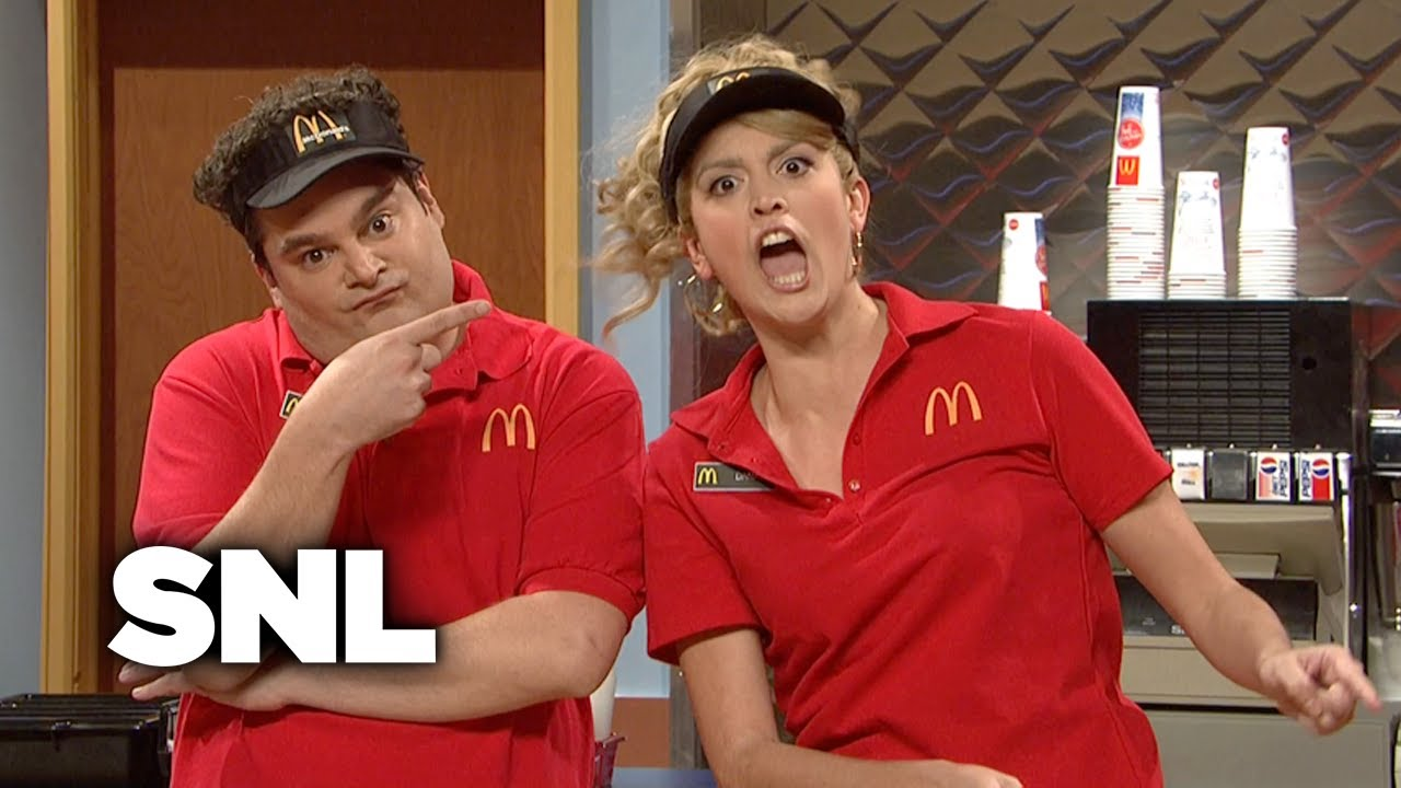 McDonald's Firing - Saturday Night Live