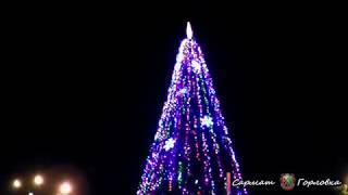 Открытие Главной Новогодней ёлочки Горловки 2019-20