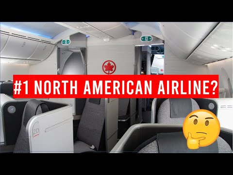Is Air Canada the BEST North American Airline?