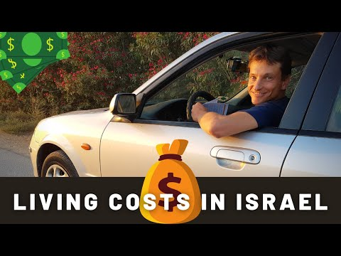 Living Costs In ISRAEL (It's EXPENSIVE!)