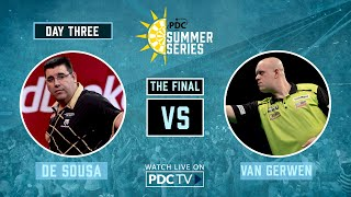 De Sousa v Van Gerwen | Final | PDC Summer Series Day Three