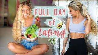 FULL DAY OF EATING » plant based ☆