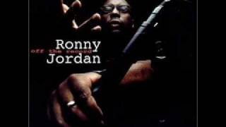 Ronny Jordan On the record