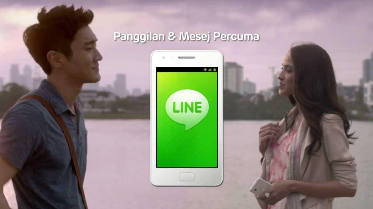 Download LINE TVC - LINE Brings You Closer (Malay-Mandarin) / LINE Mengeratkan Anda
