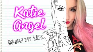 DRAW MY LIFE! 🌸 *MI VIDA EN DIBUJOS!* | Katie Angel