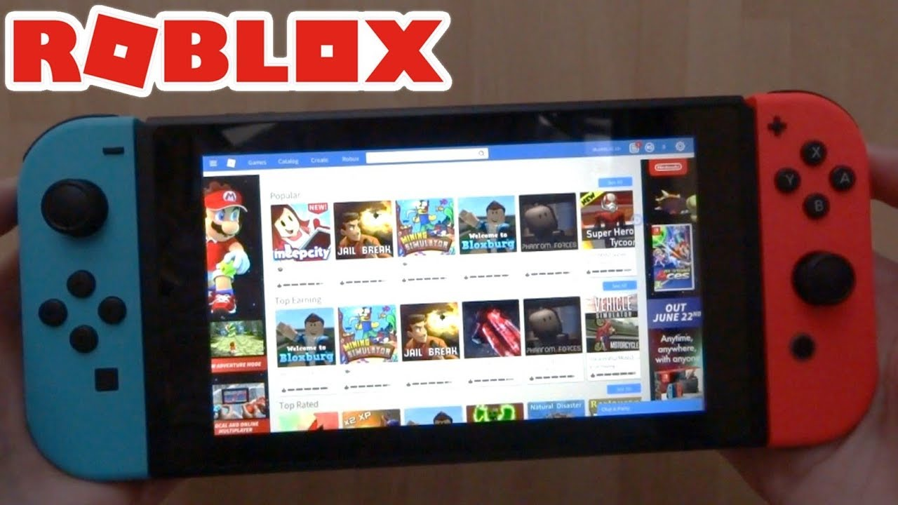 Roblox Website On The Nintendo Switch Simple Tutorial Youtube