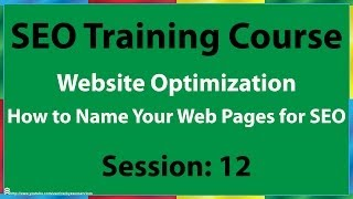 12 How to Name Your Web Pages for SEO