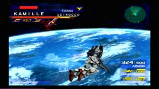 Classic Game Gems: Mobile Suit Gundam Gundam vs Zeta Gundam 15 Minutes Game Play (AUEG Side)