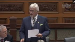 MPP Nicholls Honours the Push for Change with a Statement in the Ontario Legislature
