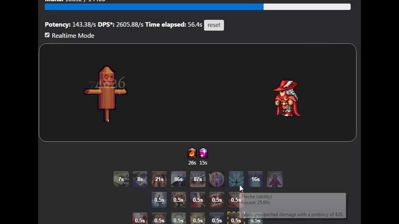 Red Mage Simulator (Practice Rotation)