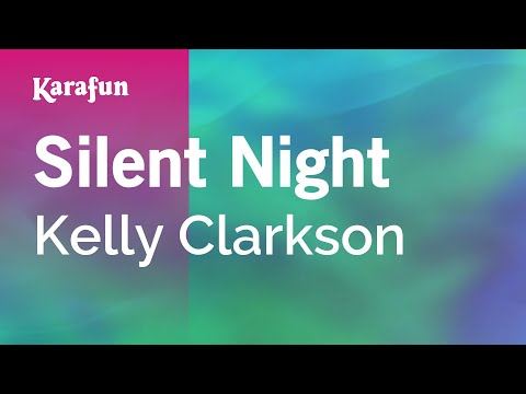 Karaoke Silent Night - Kelly Clarkson *